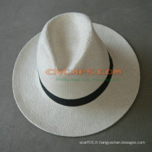 Custom Made Fine Grade a Panama Hat Équateur