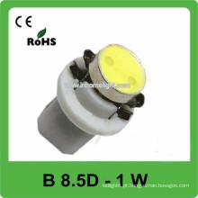 1W de alta potência DC12V Led luz da lâmpada do carro Dashboard
