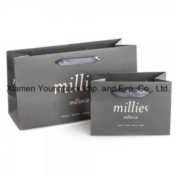 Embalaje de regalo de moda pequeños bolsos de papel promocional