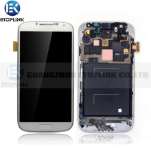 Low Price China Wholesale for Samsung Galaxy S4 I9500 I9505 LCD Touch Screen Digitizer with Frame