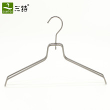 customize gun color metal clothes hangers for fashion shops