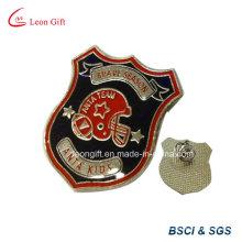 Preenchimento de esmalte bronze distintivo Pin