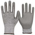Сертификат CE Анти-вырезать PU ладони покрытия защитные перчатки