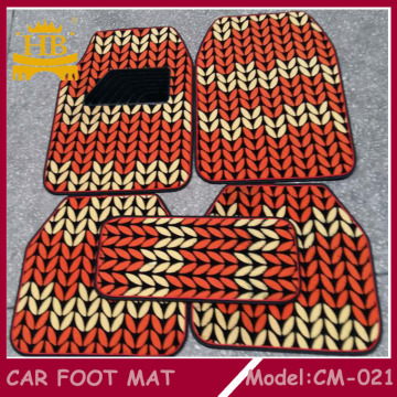 PVC +Fur Car Foot Mat, Car Mat
