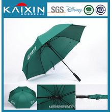 Pongee Fabric Windproof Golf Umbrella