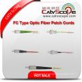 Cordons de brassage de fibre optique de type FC de haute qualité