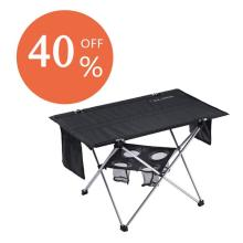 40% discount NEW Folding Table with Cup Holders