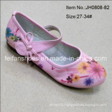 Sweet Girl Pink Dance Shoes Princess Shoes Single Shoes (JH0808-82)