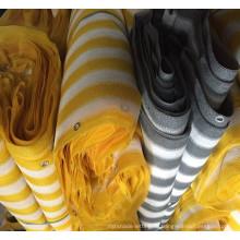 Высокий сертификат качества CE красочные ПЭНД балкон экраном забор сетка