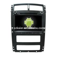 Quatro núcleos! Android 6.0 carro dvd para novo 405 com 9 polegadas tela capacitiva / GPS / link espelho / DVR / TPMS / OBD2 / WIFI / 4G