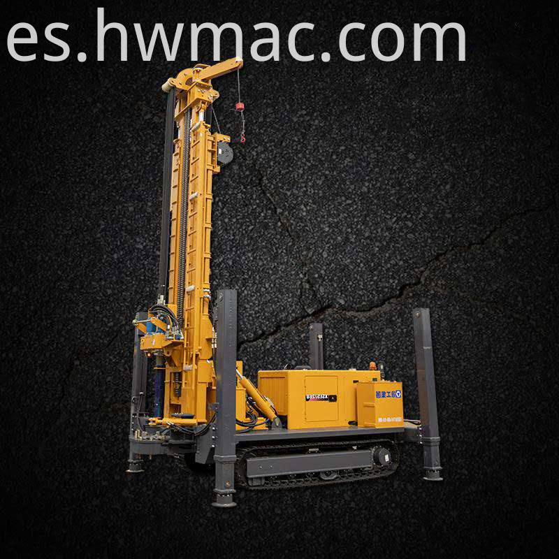 tracked mounted drilling rig