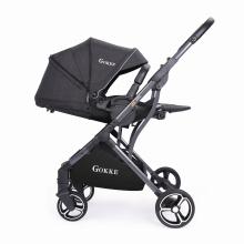 Новый дизайн 2019 HK Fair Новая детская коляска Детская коляска с треугольным дизайном Прочная рама
