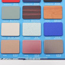 Alunewall 4мм двойная сторона 0.3 алюминий толщина вступайте спектров алюминиевая составная панель ACP китайский завод прямые продажи