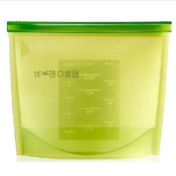 BPA Free Stand up Silica Gel Bag for Food