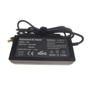 Para LITEON 19V 3.95A 75W Laptop Adapter Charger