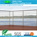 electrostatic spray powder coating paint for Balustrades and fencing