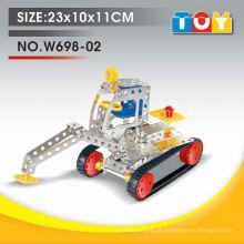 Produto novo artigo DIY brinquedo educativo de metal de veículo
