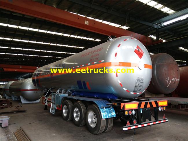 60m3 Propane Semi-trailer Tankers