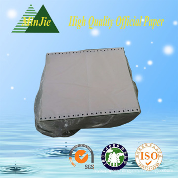 High Quality Blank Duplicate Form Carbonless Printing Paper for Needle Type Printer