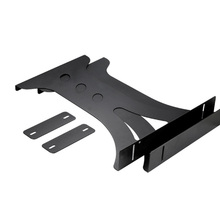 Suporte de metal ajustável para CPU de acessórios de mesa