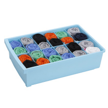 Plastic Socks Pants Box with 12 Cells