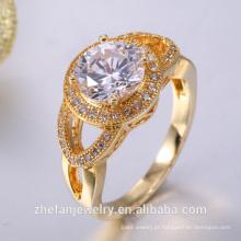 pave design de design eternity design de anéis de ouro para as mulheres