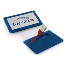 Movimentação portátil do flash de USB da forma do cartão da movimentação da pena mini para o presente do negócio