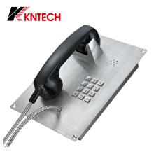 Téléphone d'urgence en acier inoxydable Knzd-07A Kntech