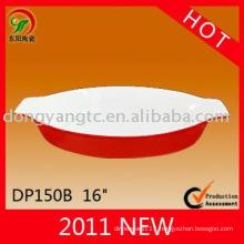 New design custom baking dish stoneware
