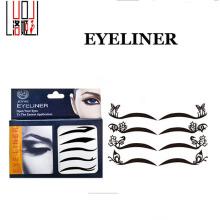 Новый тип экологической лицо наклейки моды глаз съемный стикер