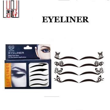 Nuevo tipo ambiental cara pegatinas moda ojos etiqueta engomada desprendible