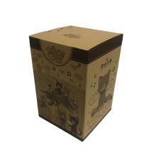 Square kraft gift boxes