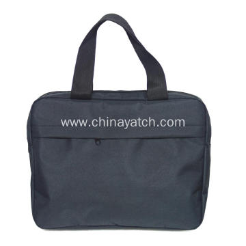 Cheap promotional basic pattern laptop bag