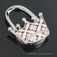 Crochet de sac à main brillant pour cadeaux de mariage