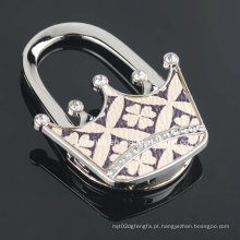 Gancho brilhante da bolsa da coroa para presentes de casamento