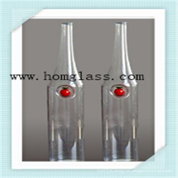 Botellas de cristal de alta calidad del tarro del boticario de la botella de vino del vidrio de Borosilicate