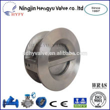 PN10/PN16 316 stainless steel wafer type check valve