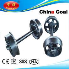 best cast steel 600mm gauge tramcar wheels from the best manufacuter