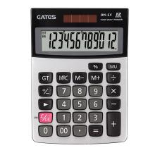 Desktop Small size popular pocket calculator with metal panel BM-6V