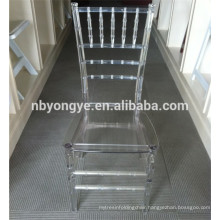 strong and durable acrylic clear resin tiffany chair
