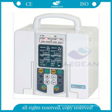 Hot sales with drug library infusion double channel medical syringe pump