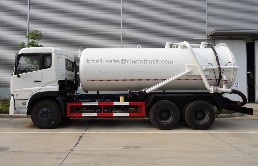 Wasted Water Suction Truck For Sale