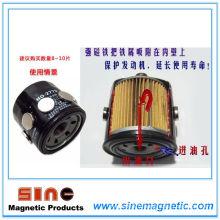 Auto filtre à huile moteur solide aimant permanent