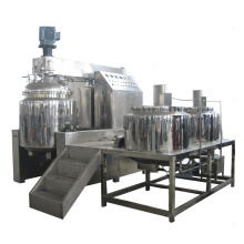 Pote de emulsificação com emulsificante homogeneizador a vácuo