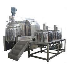 Recipiente emulsionante con emulsionante homogeneizador al vacío