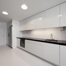 armário de cozinha handleless moderno venda da fábrica do armário de cozinha do mdf