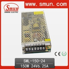 150W 24VDC 6A Switching Power Supply with CE RoHS Approved