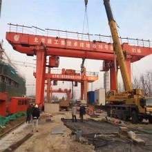 20 tons two hooks double girder gantry crane