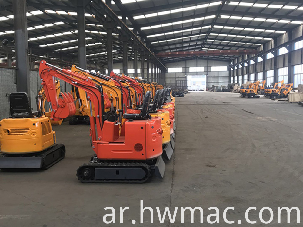Small Excavator Warehouse 2