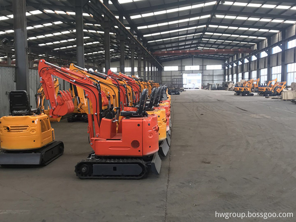 Small Excavator Warehouse 2